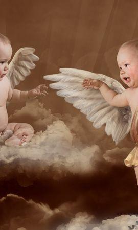 13039 скачать обои Люди, Дети, Артфото, Ангелы - заставки и картинки бесплатно