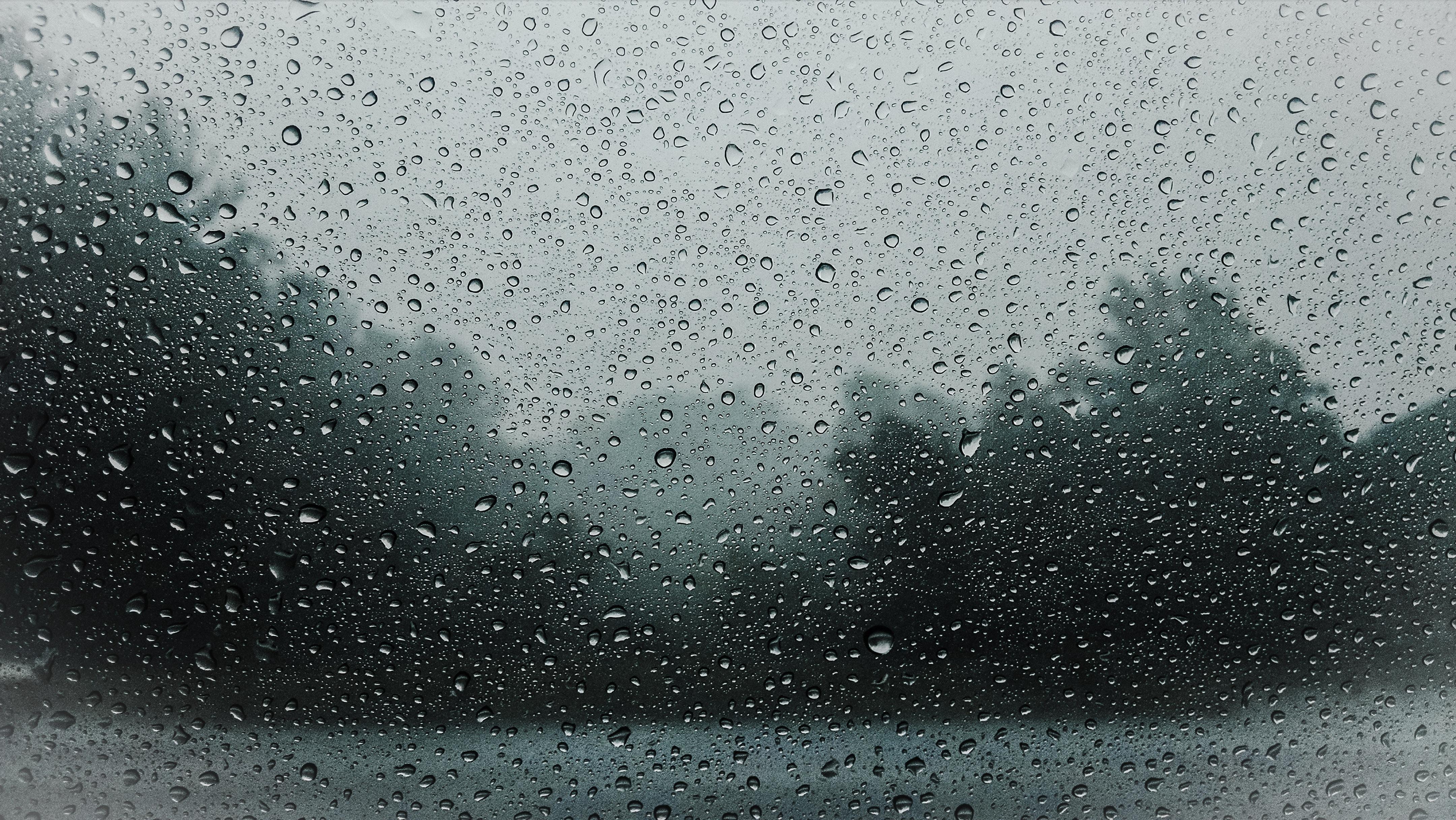 151249 Hintergrundbild herunterladen Regen, Drops, Makro, Nass, Glas, Feucht - Bildschirmschoner und Bilder kostenlos