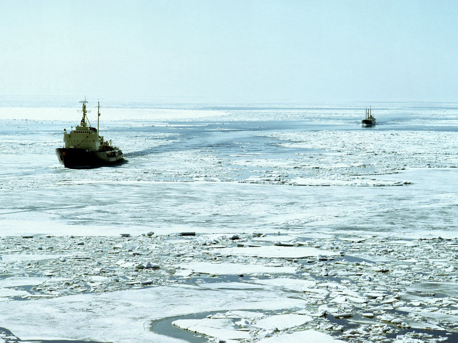 91979 скачать обои Природа, Ледокол, Холод, Мороз, Океан - заставки и картинки бесплатно