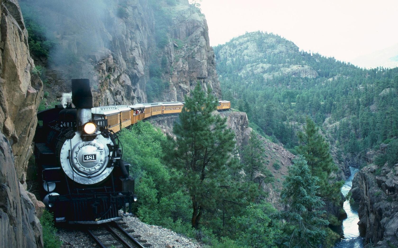 48329壁紙のダウンロード輸送, 風景, 自然, 列車-スクリーンセーバーと写真を無料で