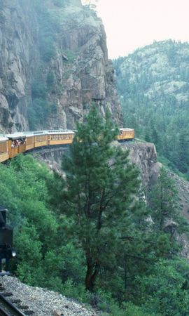 48329 télécharger le fond d'écran Transports, Paysage, Nature, Trains - économiseurs d'écran et images gratuitement