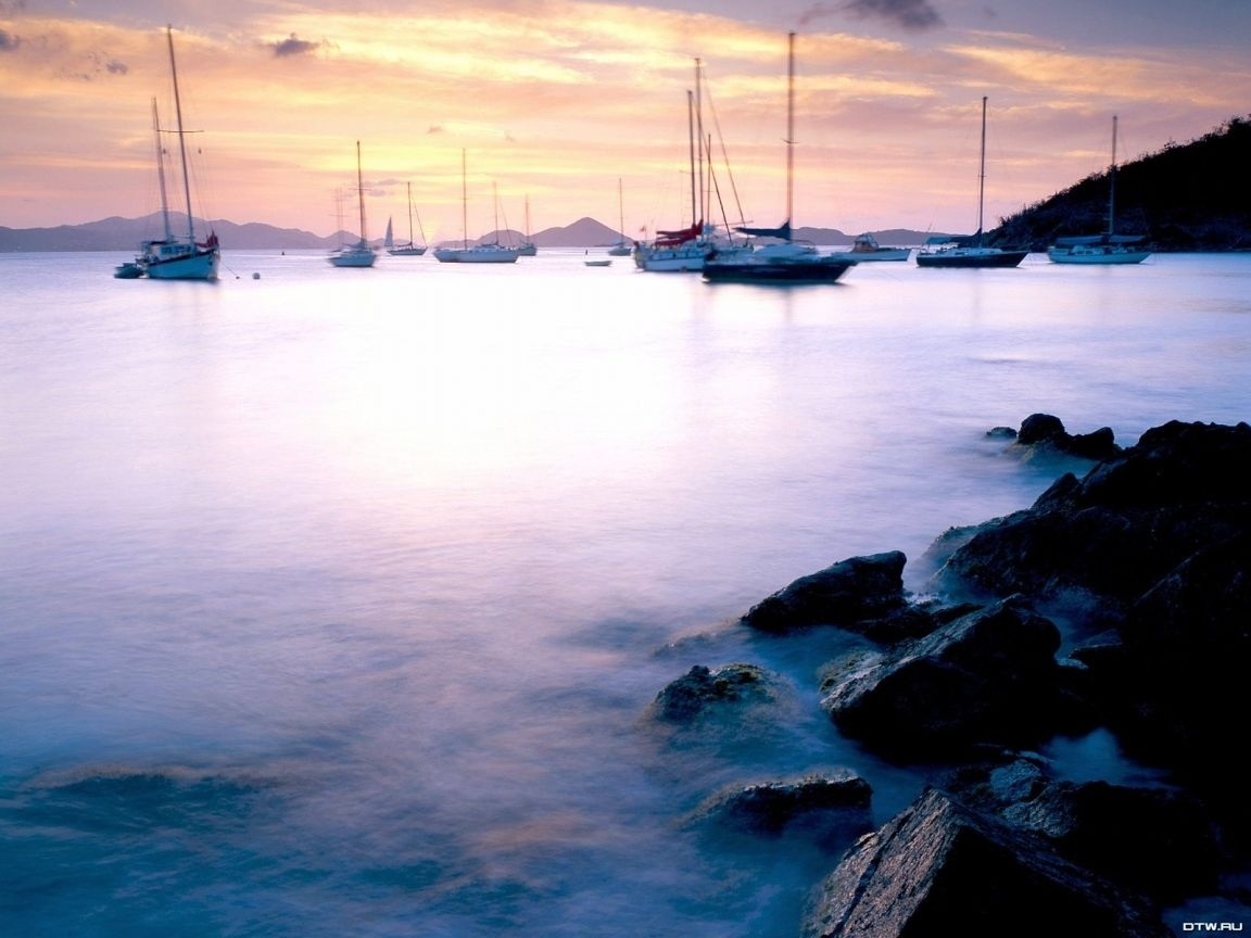 25191 скачать обои Пейзаж, Небо, Море, Облака, Яхты - заставки и картинки бесплатно