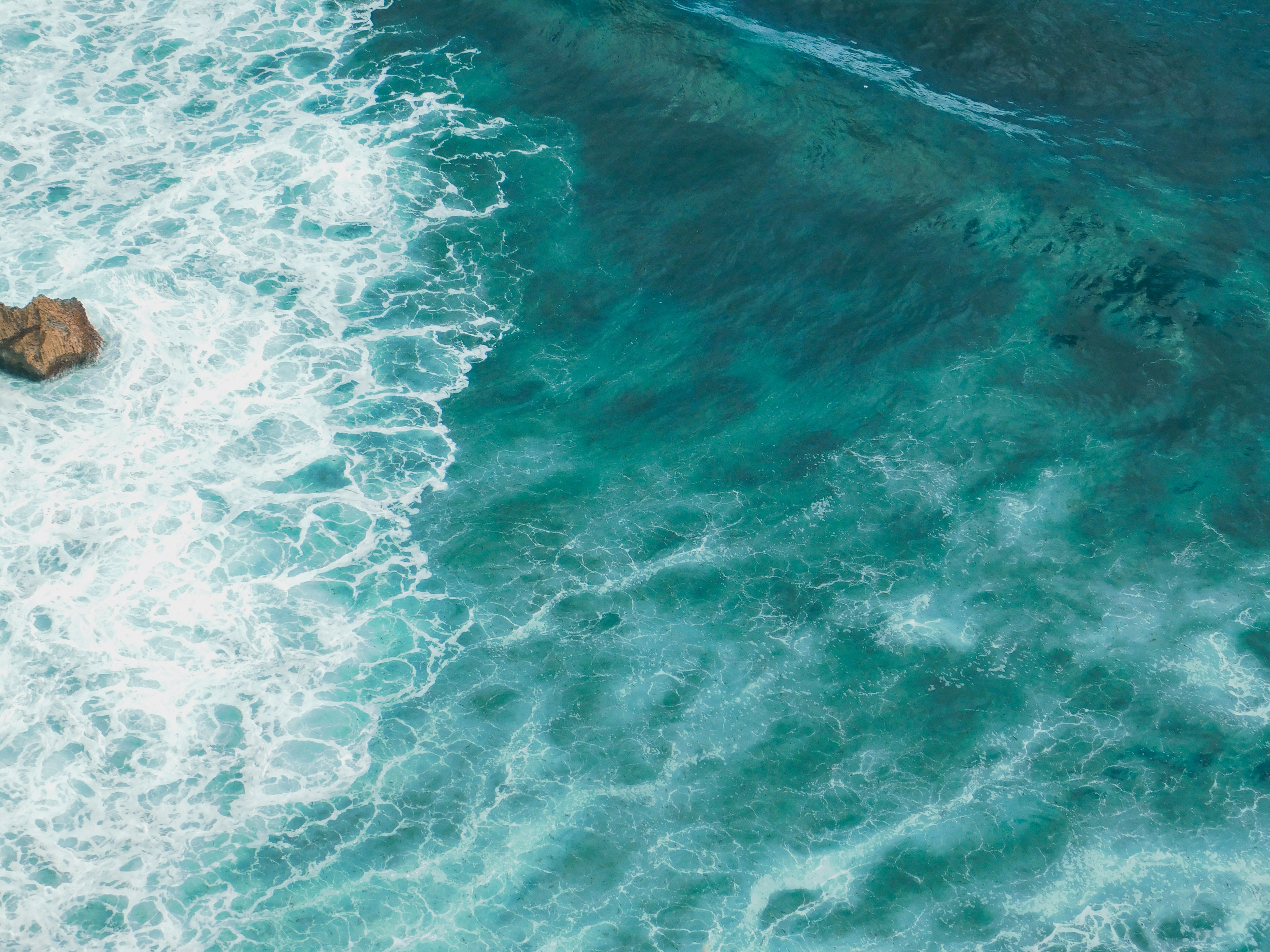82812 free download Turquoise wallpapers for phone, Nature, Sea, Wave, Surface, Water Turquoise images and screensavers for mobile