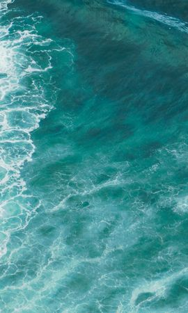 82812 baixe gratuitamente papéis de parede de Turquesa para seu telefone, Natureza, Mar, Aceno, Onda, Superfície, Água imagens e protetores de tela de Turquesa para seu celular