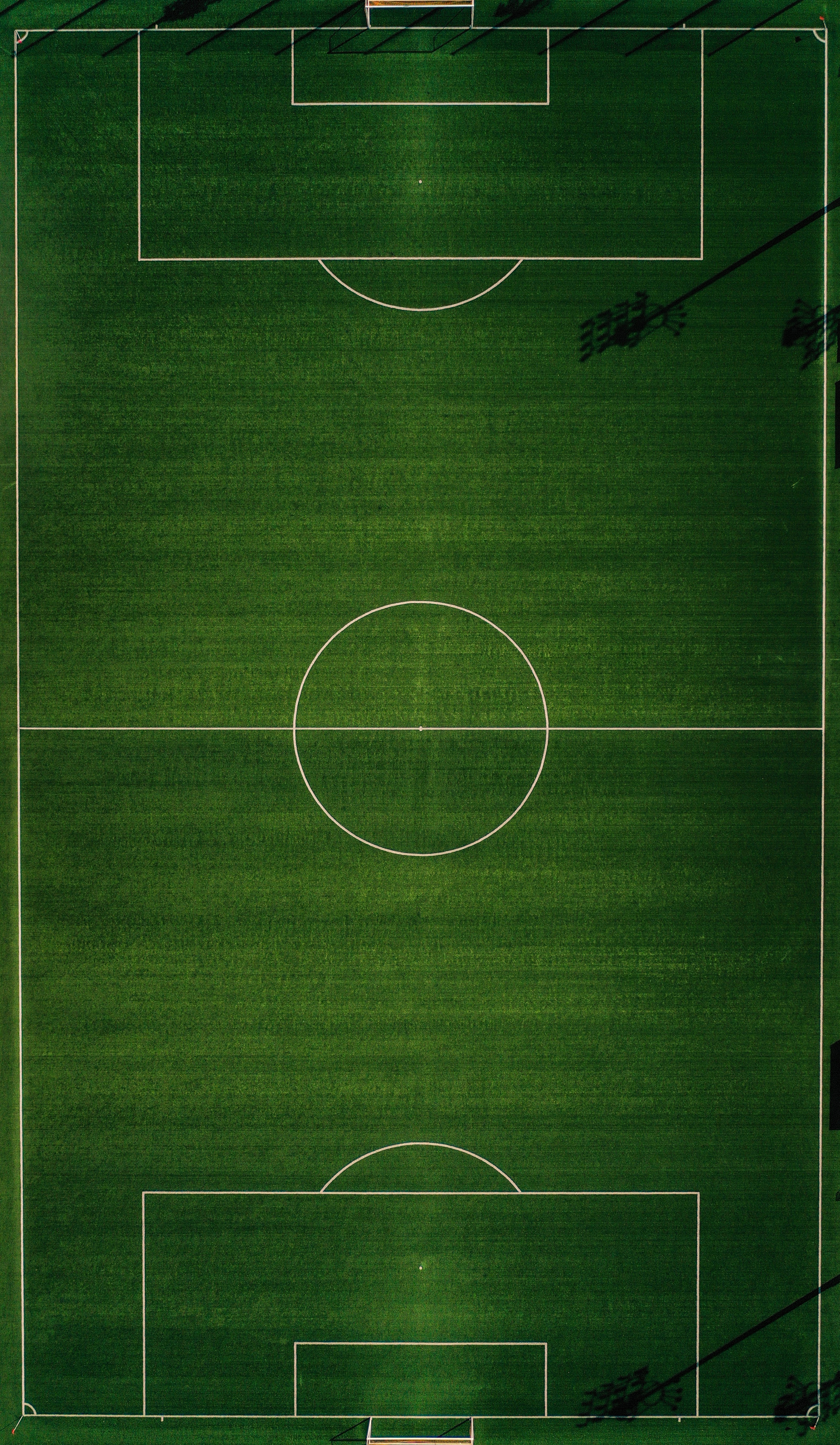 66003 download wallpaper Football, Sports, View From Above, Markup, Field, Football Field screensavers and pictures for free