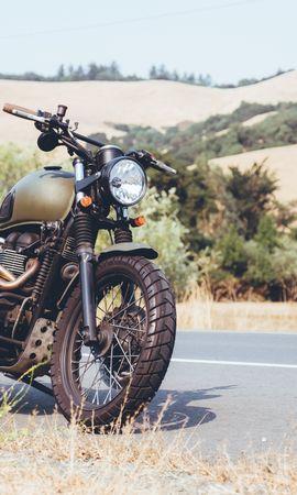 91033 télécharger le fond d'écran Moto, Motocyclette, Vue De Côté, Route - économiseurs d'écran et images gratuitement