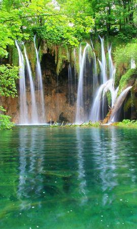 35069 скачать обои Пейзаж, Река, Водопады - заставки и картинки бесплатно