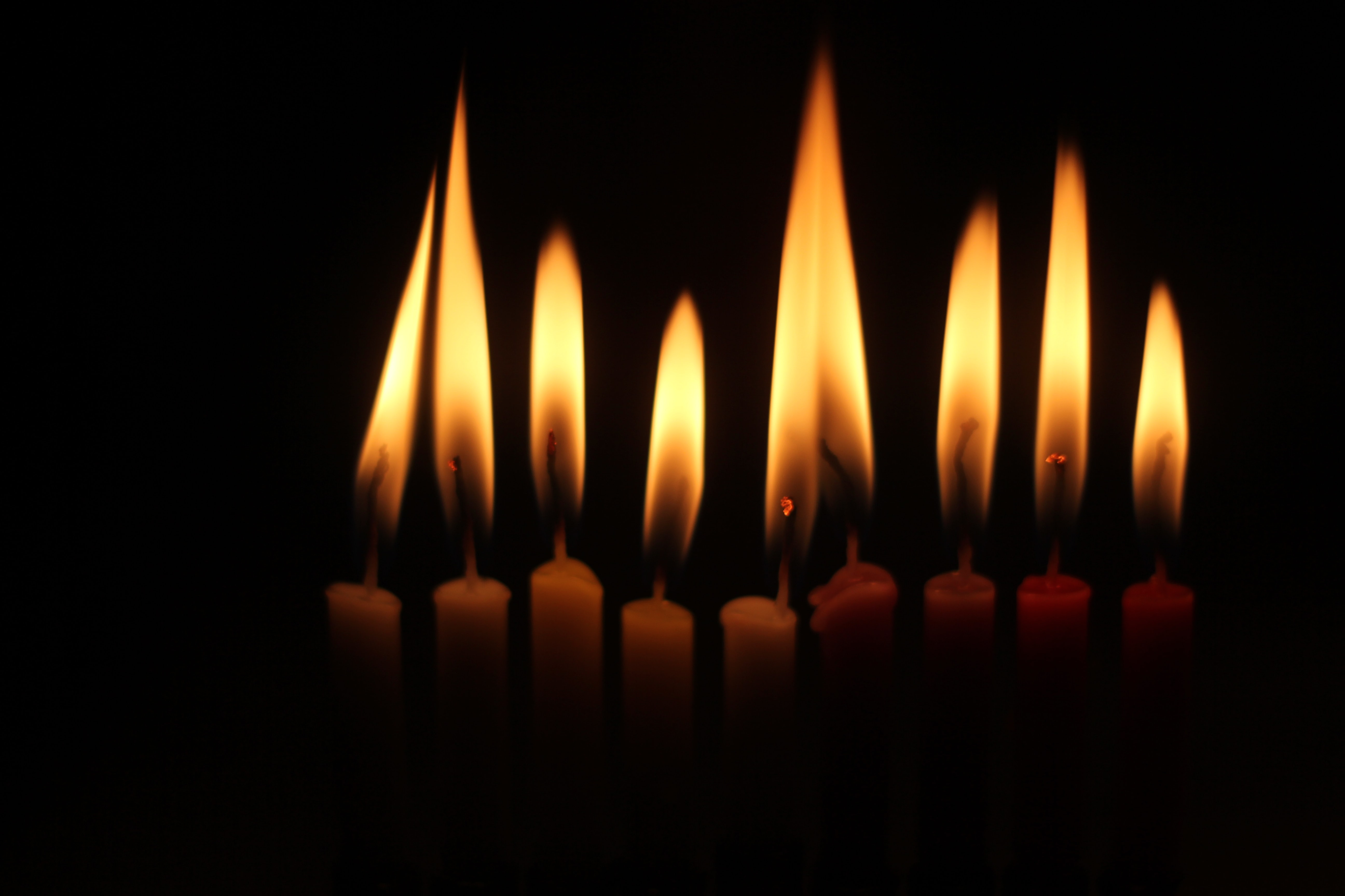101264 Screensavers and Wallpapers Candles for phone. Download Fire, Candles, Dark, Flame, Darkness pictures for free