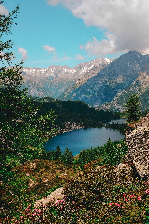 118555 免費下載壁紙 性质, 湖, 湖景, 瓦尔·伦德纳, 意大利, 山 屏保和圖片