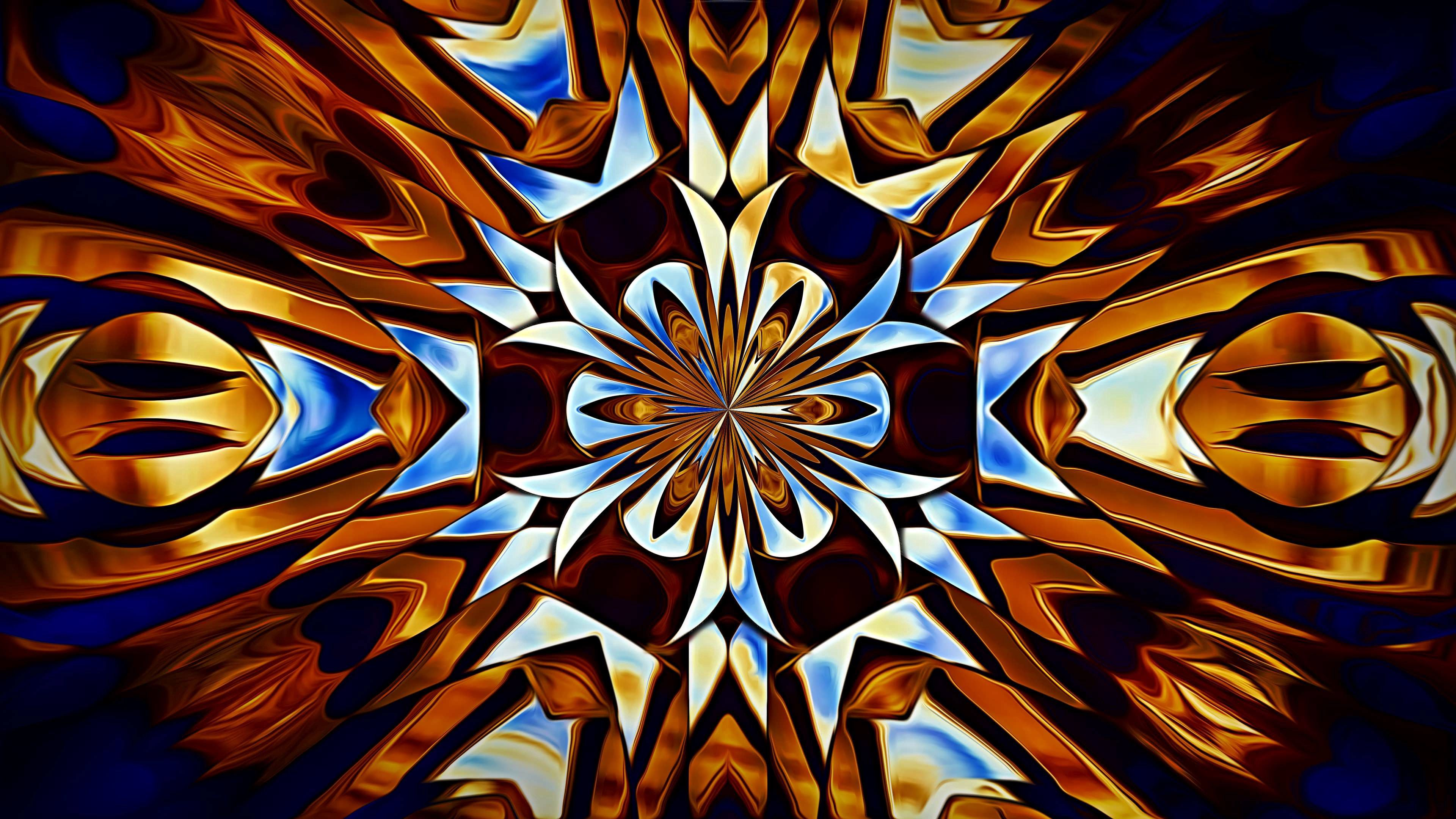 79766 download wallpaper Abstract, Fractal, Pattern, Symmetry, Kaleidoscope screensavers and pictures for free
