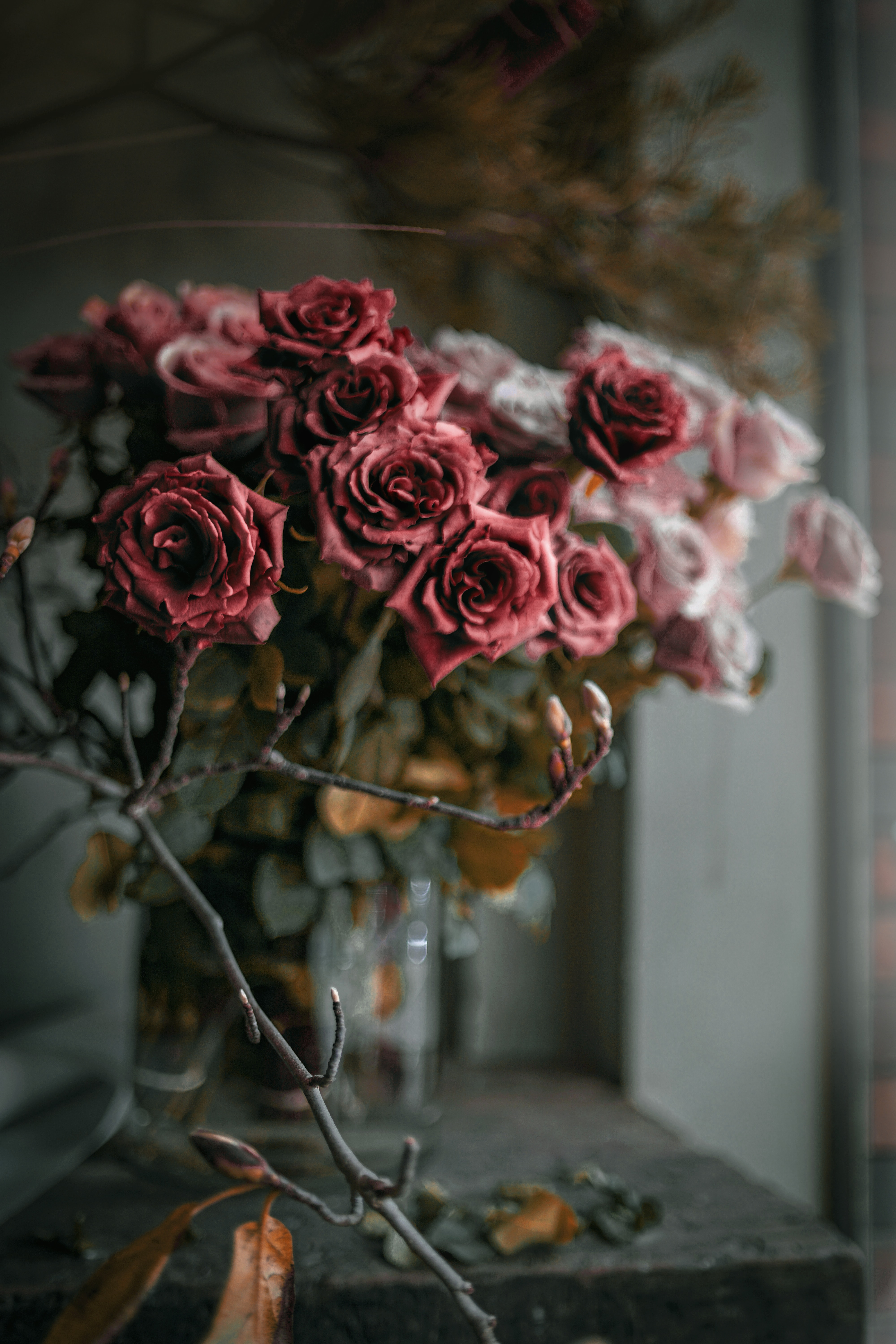 144514 Screensavers and Wallpapers Bouquet for phone. Download Flowers, Roses, Pink, Bouquet pictures for free