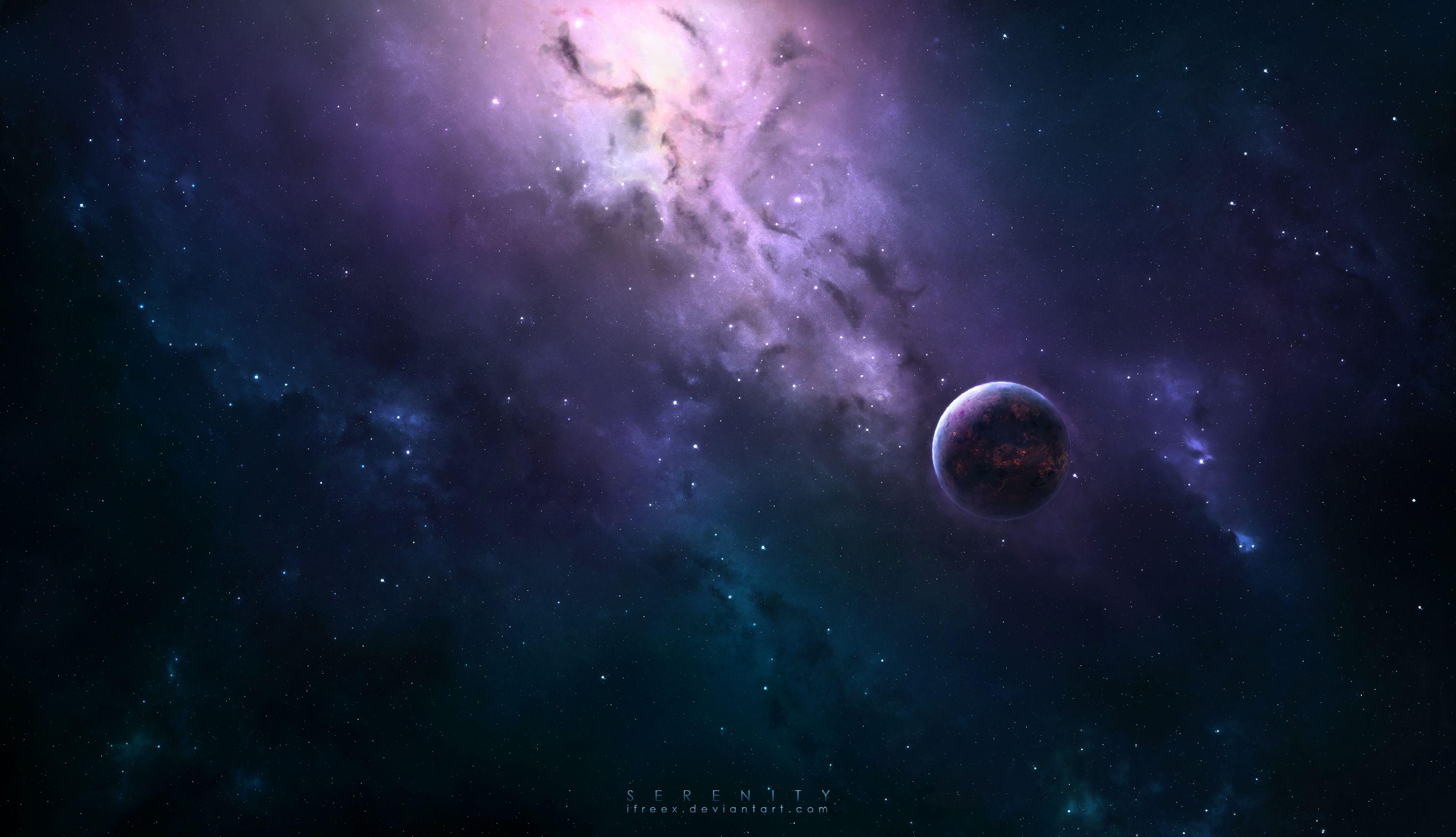 61121壁紙のダウンロード惑星, 宇宙, 天の川, 輝く, 輝き, 闇, 暗い, スター-スクリーンセーバーと写真を無料で