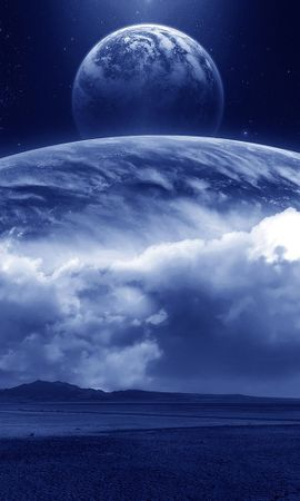 15649 télécharger le fond d'écran Paysage, Sky, Planètes - économiseurs d'écran et images gratuitement