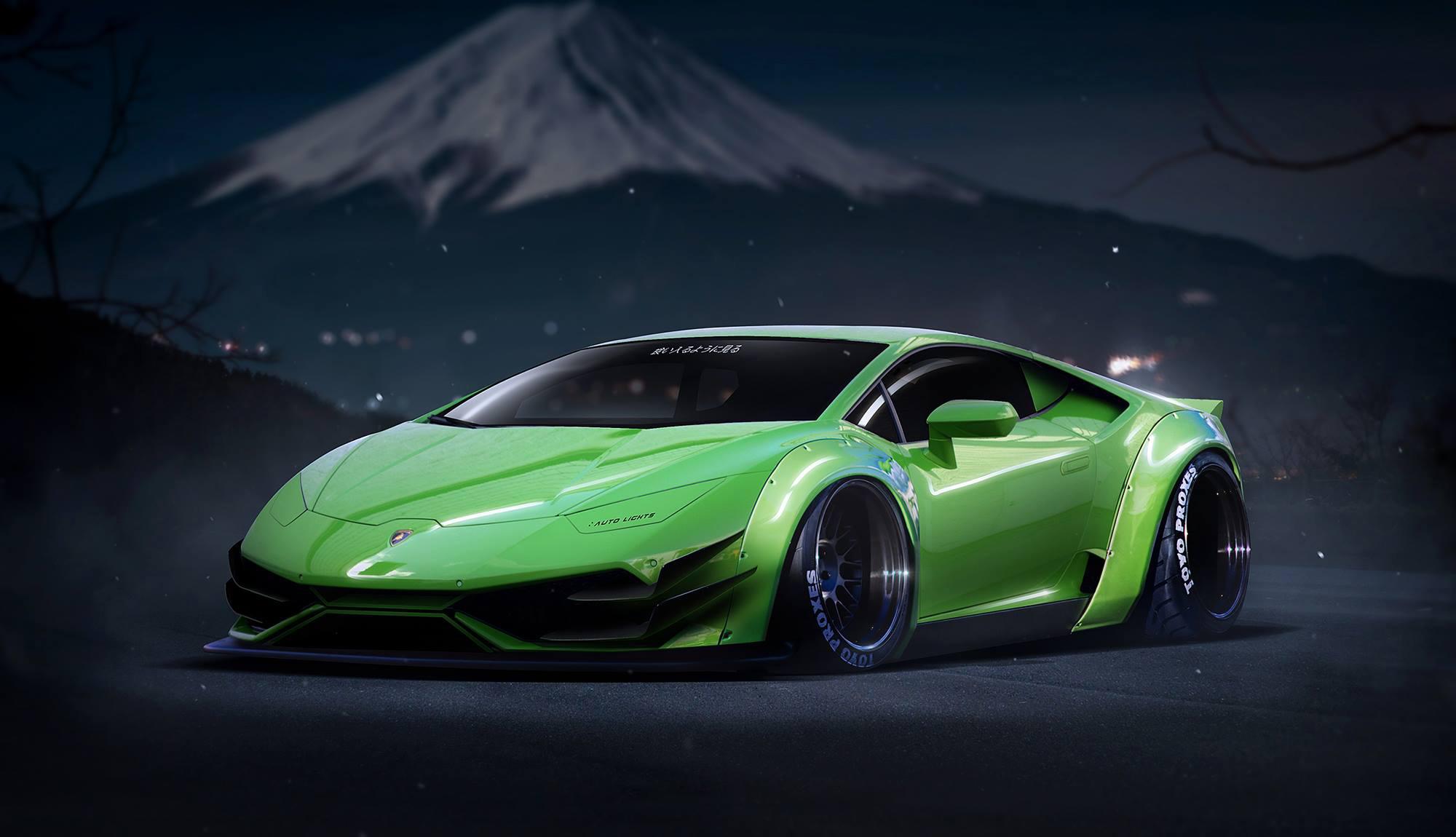 116695 download wallpaper Lamborghini, Cars, Lp640-4, Huracan screensavers and pictures for free
