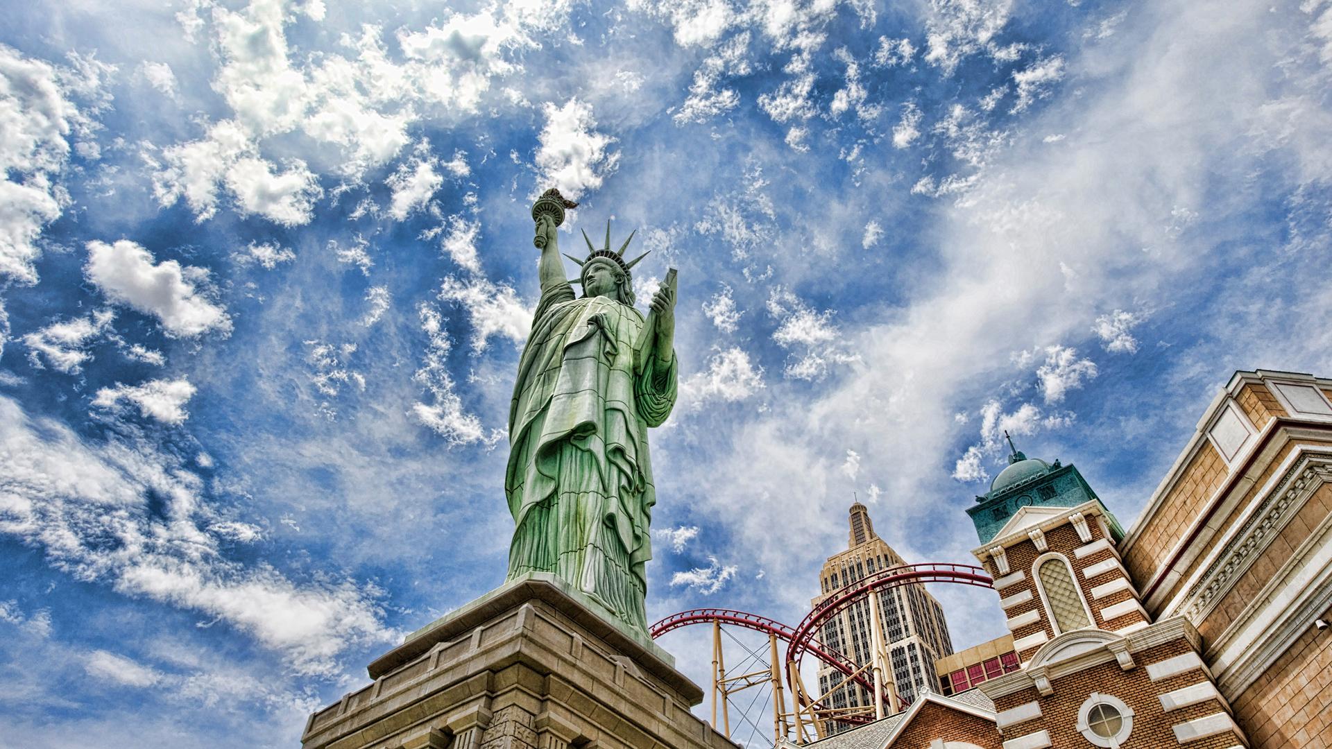 12530 скачать обои Сша (Usa), Архитектура, Статуя Свободы, Памятники - заставки и картинки бесплатно
