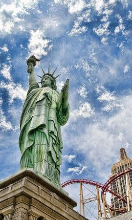 12530 скачать обои Архитектура, Статуя Свободы, Памятники, Сша (Usa) - заставки и картинки бесплатно