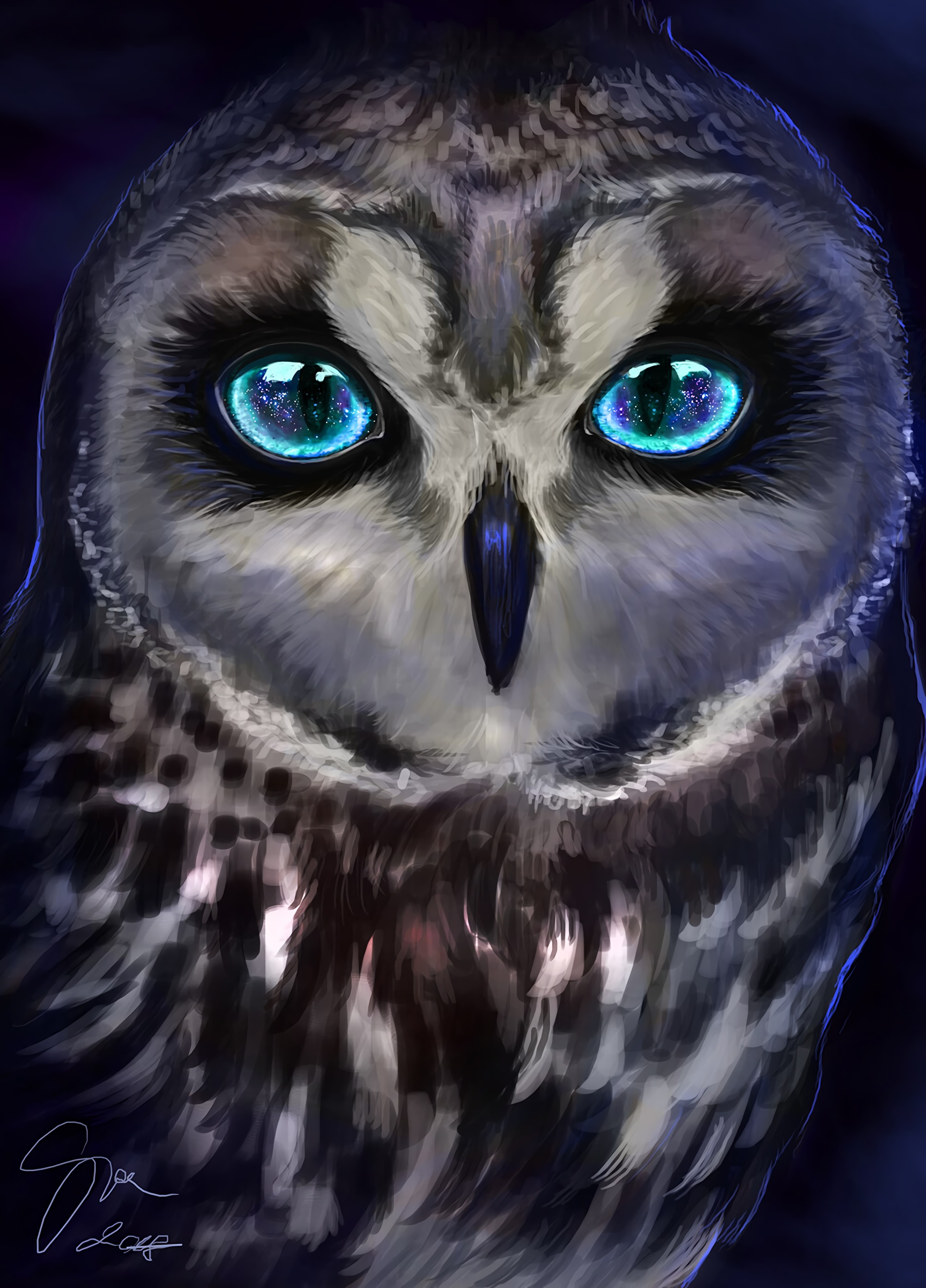 65782 Screensavers and Wallpapers Owl for phone. Download Owl, Bird, Art, Sight, Opinion pictures for free