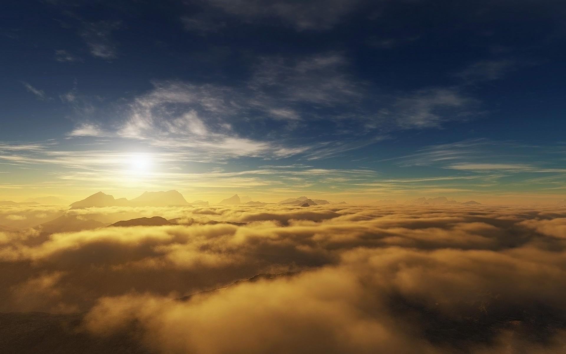 3270 скачать обои Пейзаж, Небо, Солнце - заставки и картинки бесплатно