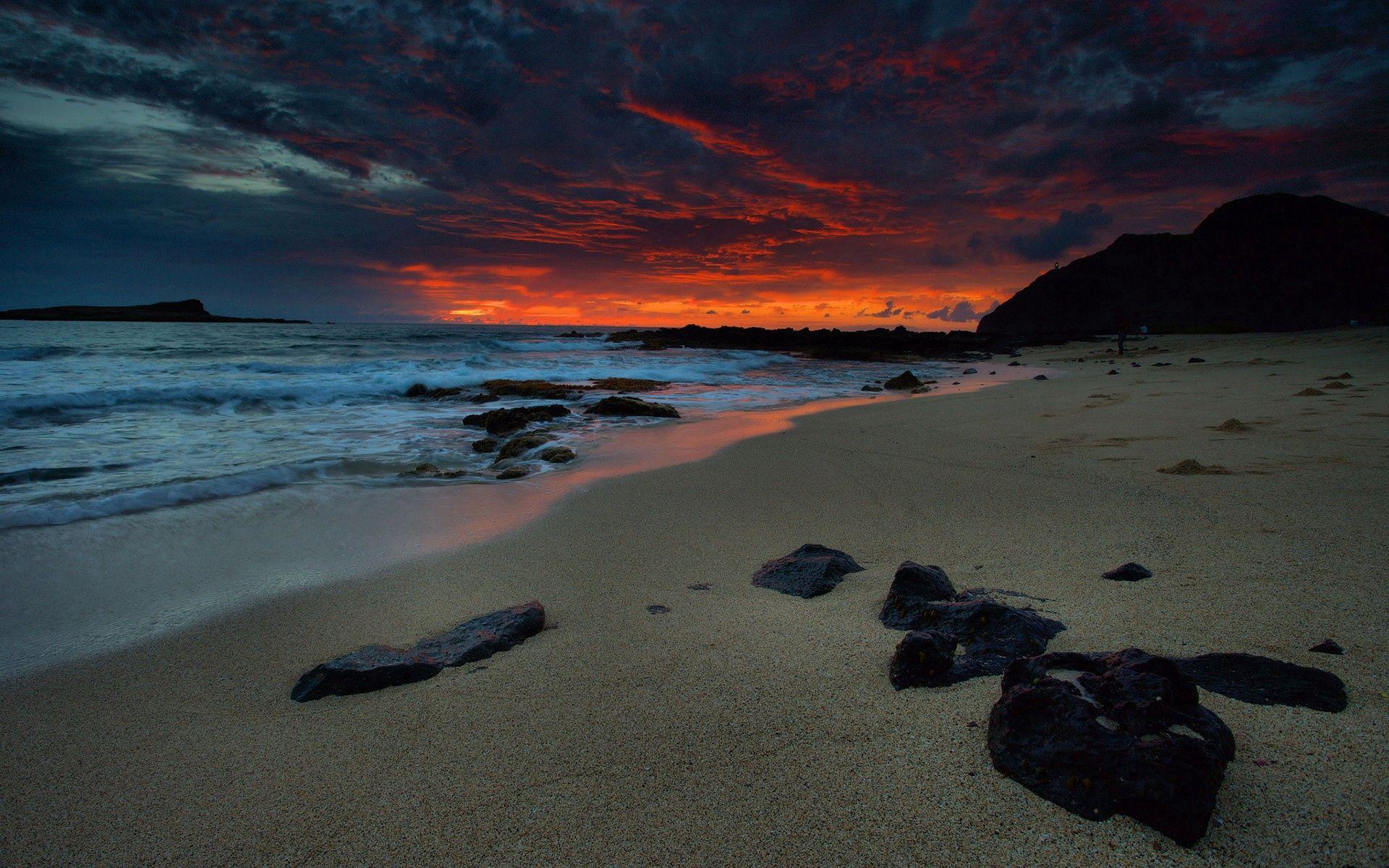 52857 papel de parede 320x480 em seu telefone gratuitamente, baixe imagens Natureza, Céu, Mar, Noite, Praia 320x480 em seu celular