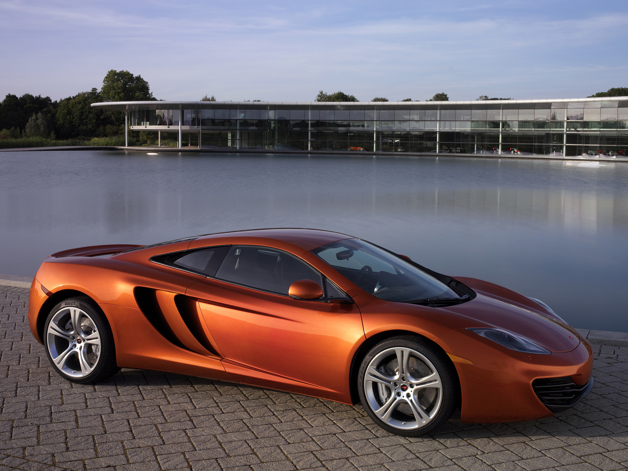 123515 download wallpaper Cars, Mclaren, Mp4-12C, Pool, Auto screensavers and pictures for free