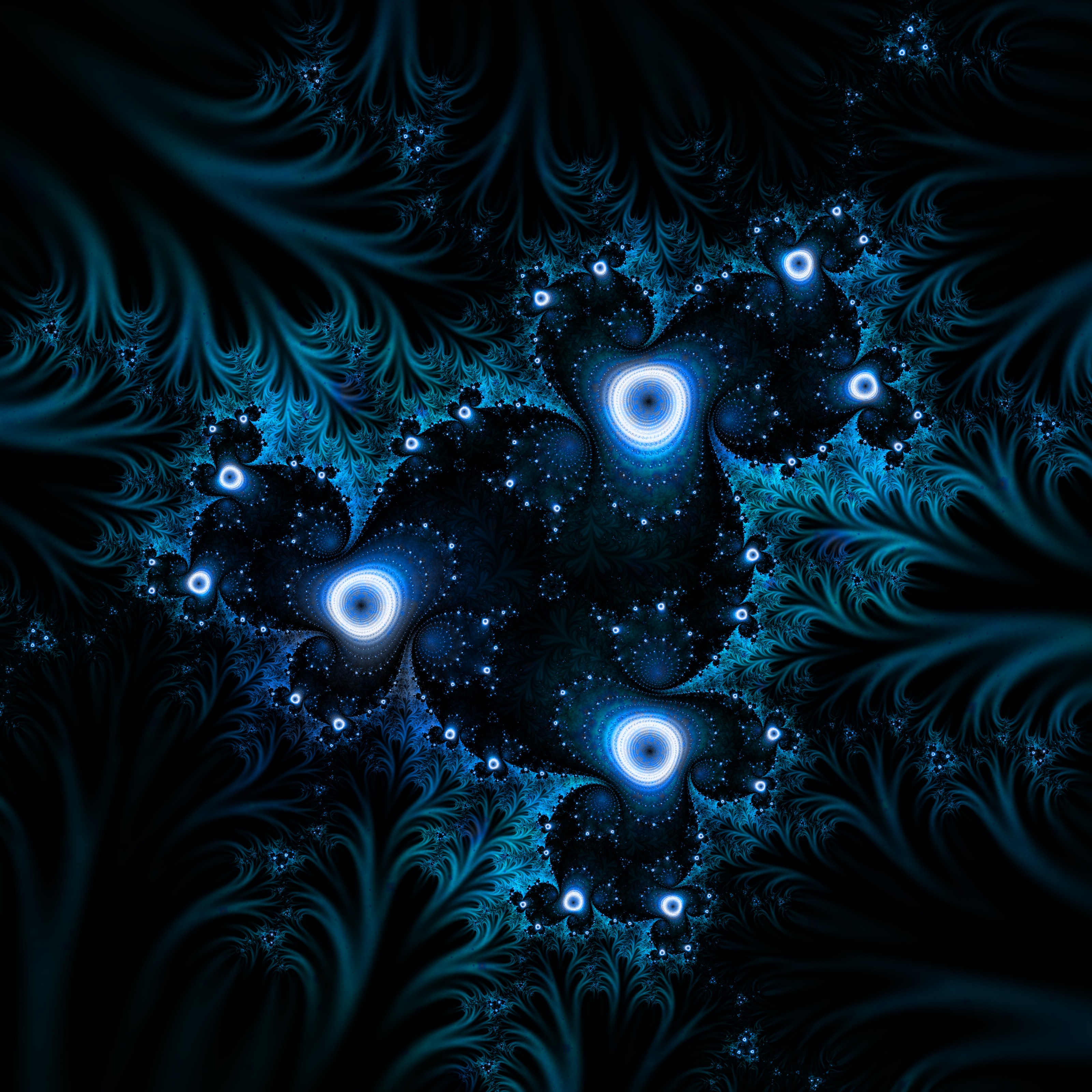 113780 Hintergrundbild herunterladen Abstrakt, Dunkel, Fraktale, Glühen, Glow, Verwirrt, Komplizierte - Bildschirmschoner und Bilder kostenlos