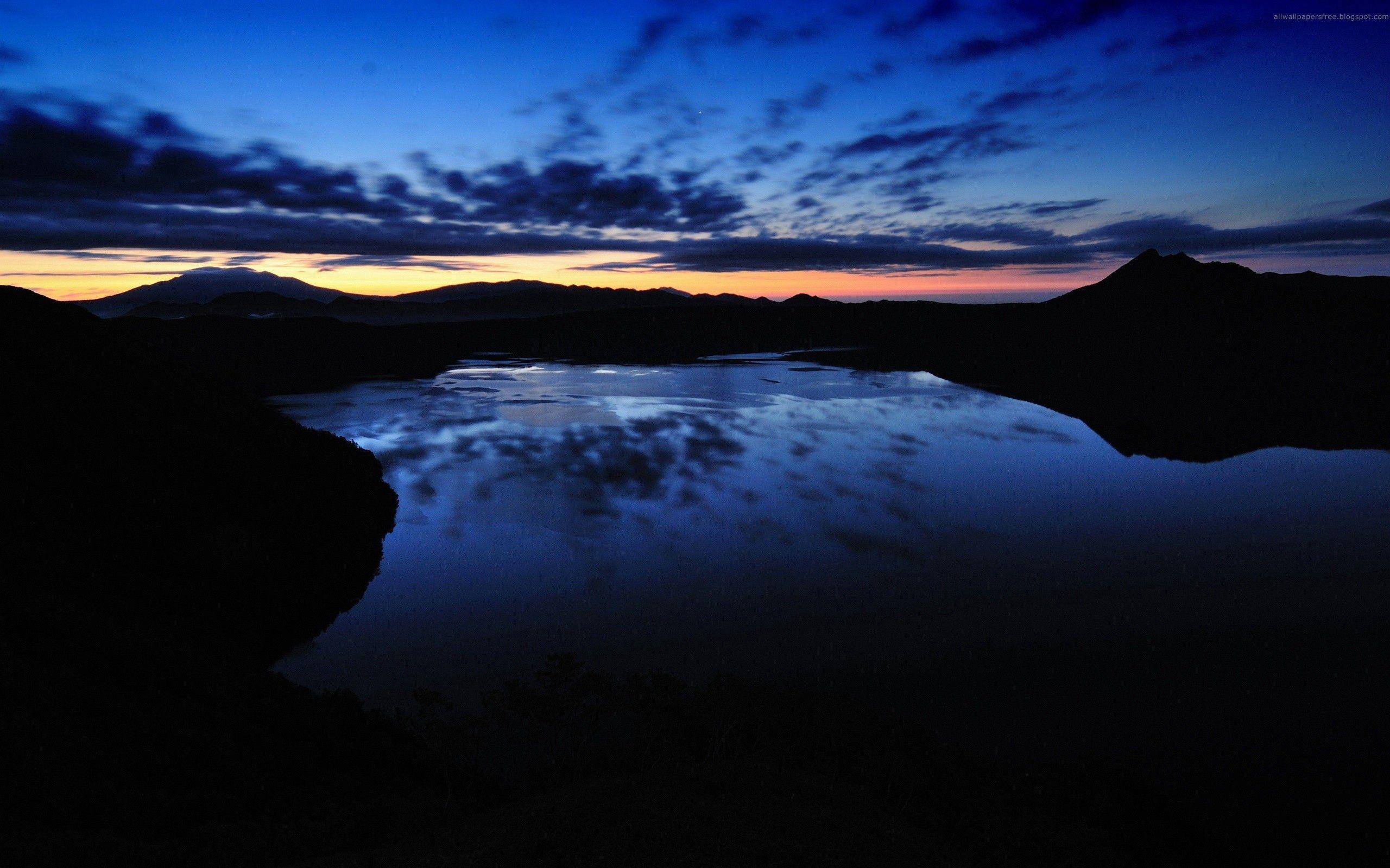 免費下載 92021: 河, 日落, 天空, 夜, 黑暗的, 黑暗 桌面壁紙