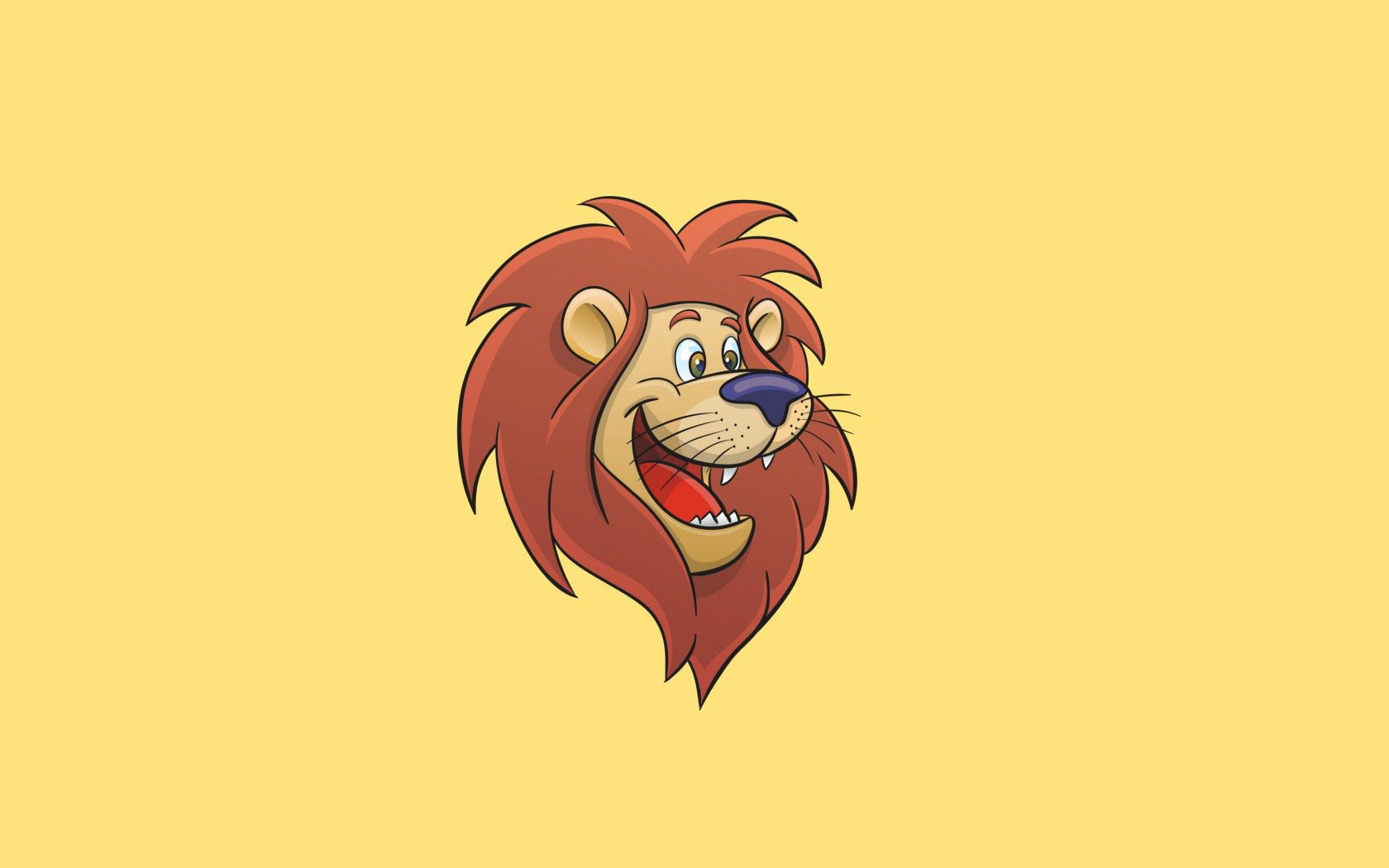 74726 download wallpaper Cartoon, Art, Vector, Lion, Animated screensavers and pictures for free