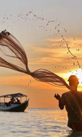 30422 скачать обои Пейзаж, Люди, Море, Мужчины - заставки и картинки бесплатно
