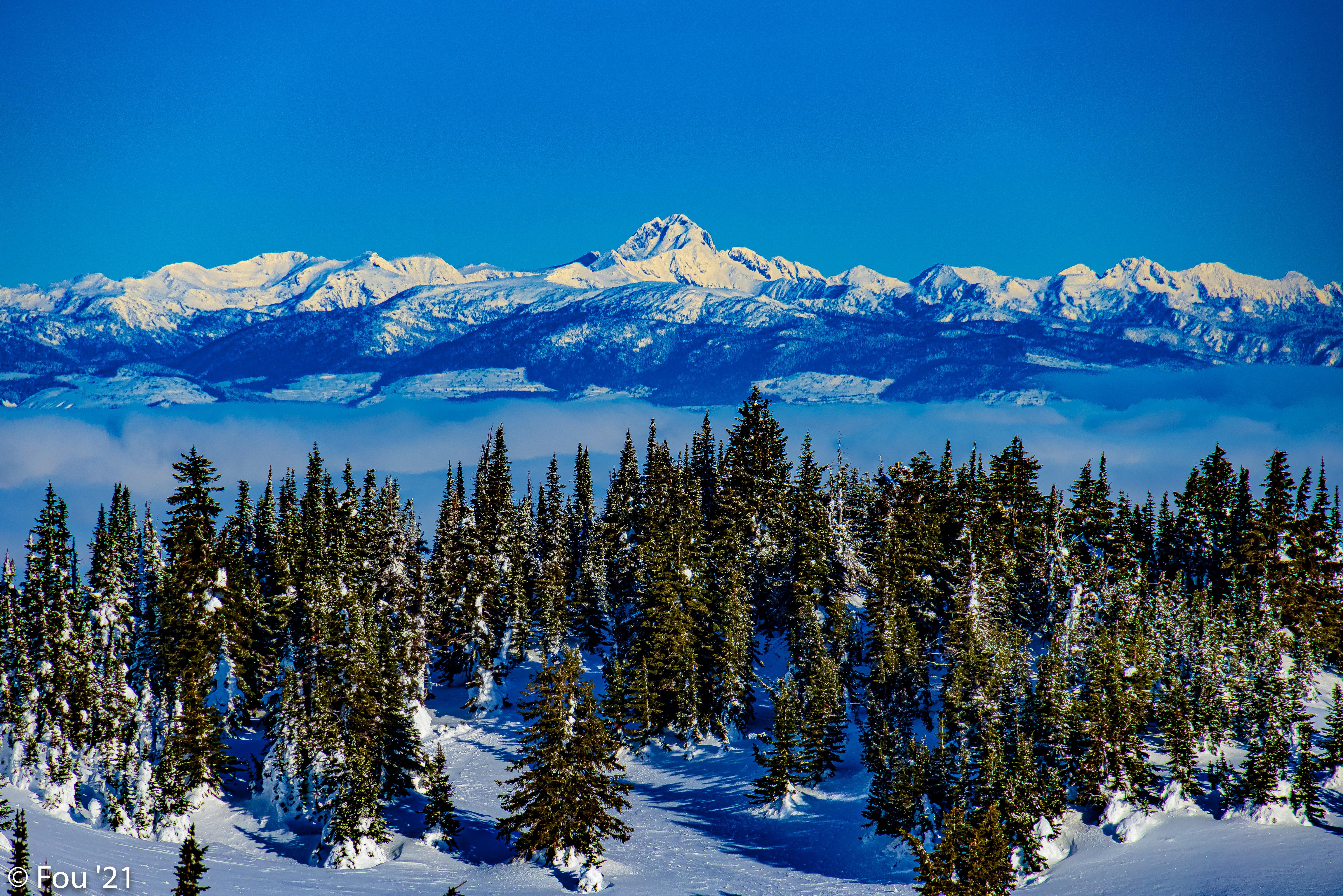92138 télécharger le fond d'écran Nature, Arbres, Neige, Hiver, Montagnes, Paysage, Sapins - économiseurs d'écran et images gratuitement