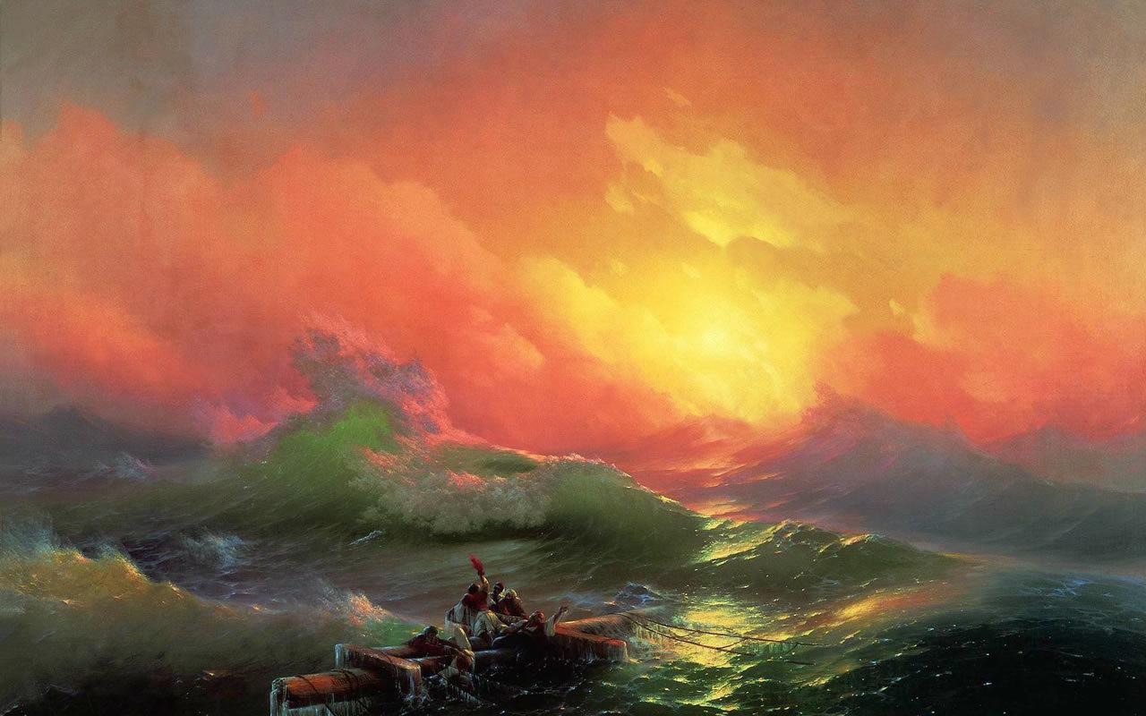 24341 скачать обои Пейзаж, Люди, Закат, Море, Волны - заставки и картинки бесплатно