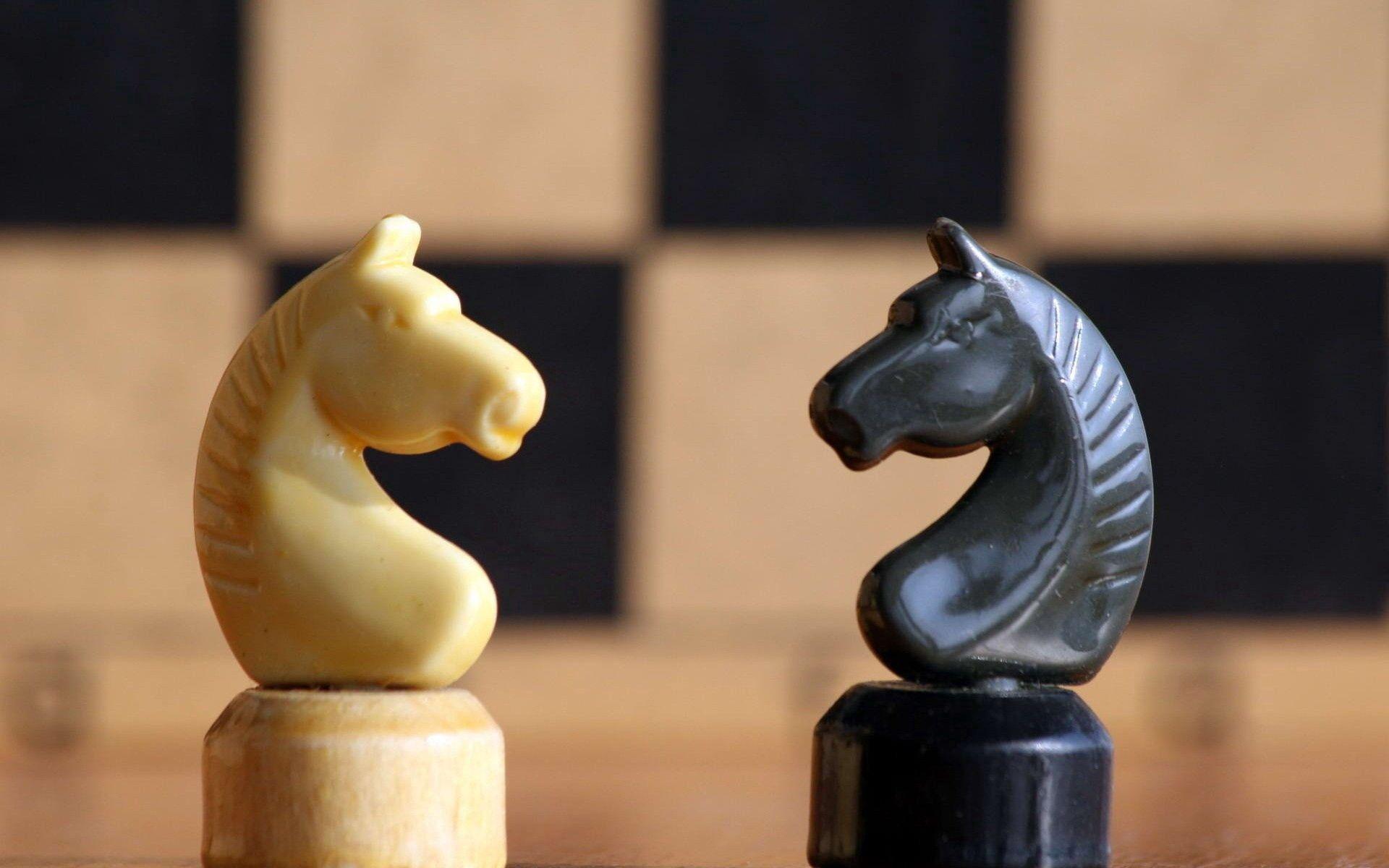 68879 Hintergrundbild herunterladen Chess, Verschiedenes, Sonstige, Spiel, Das Spiel, Pferd - Bildschirmschoner und Bilder kostenlos