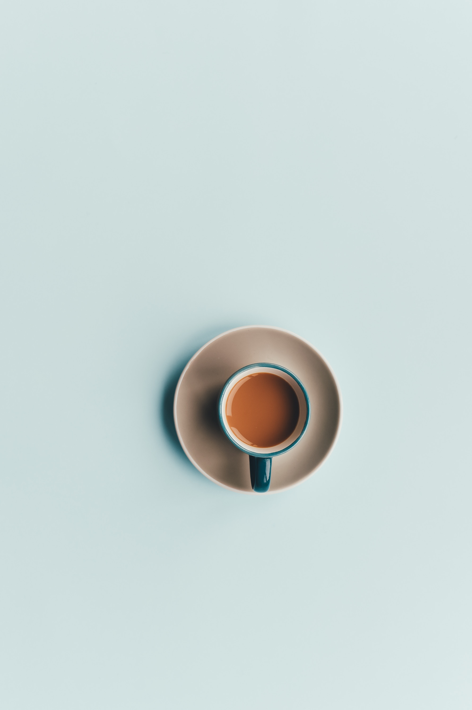 81345 free wallpaper 1080x2400 for phone, download images Coffee, Cup, Minimalism 1080x2400 for mobile