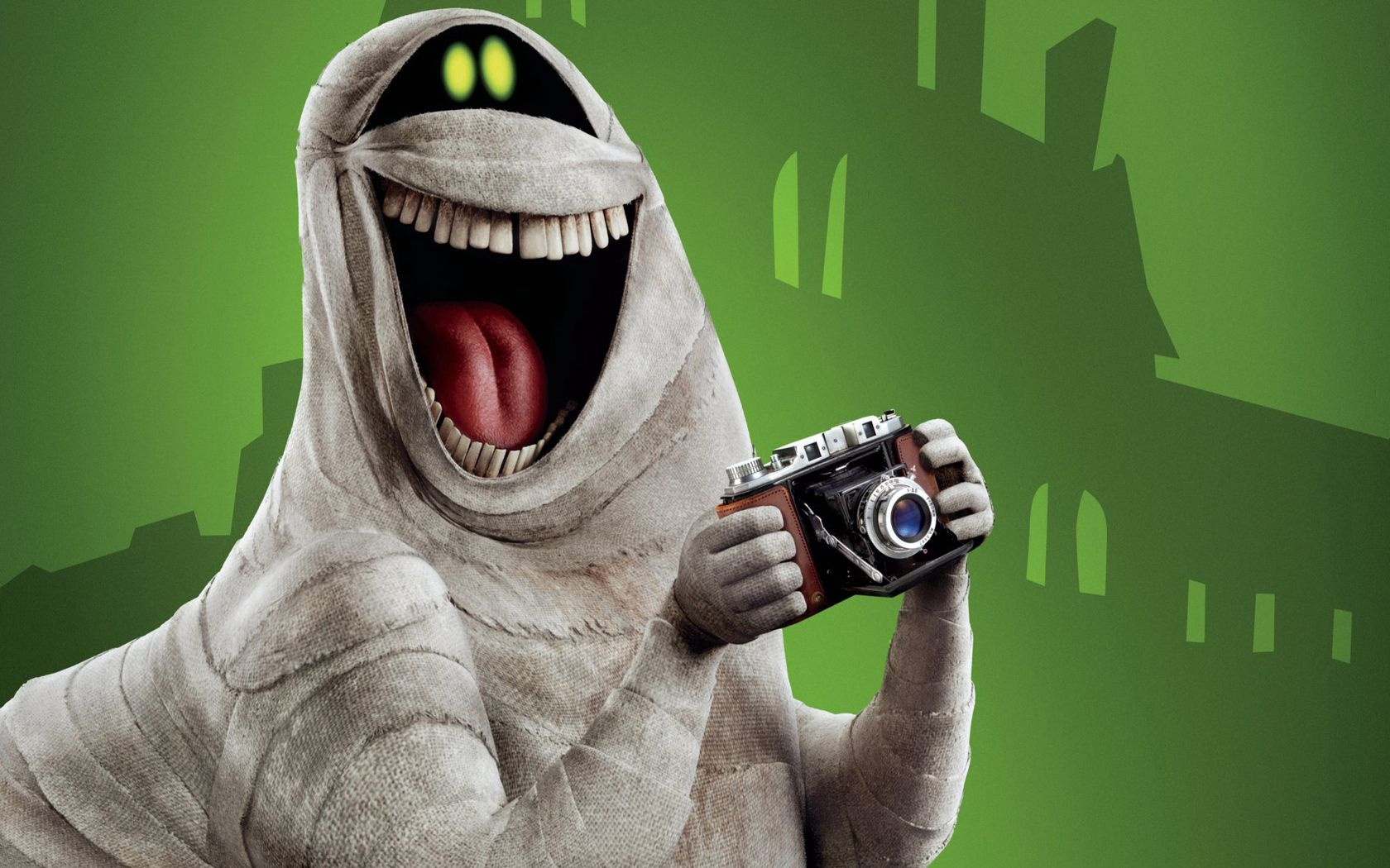 147739 download wallpaper Art, Smile, Camera, Monster, Laugh, Laughter screensavers and pictures for free