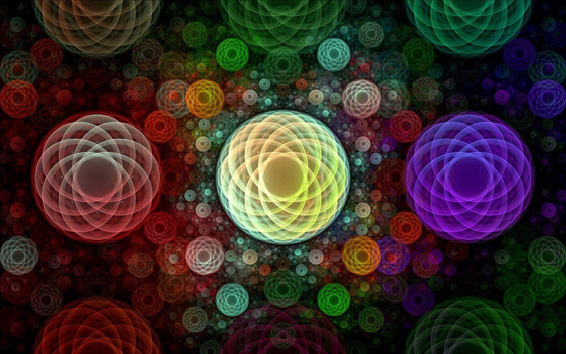56304 免費下載壁紙 抽象, 界, 圆圈, 明亮的, 明亮, 多彩多姿, 五颜六色 屏保和圖片