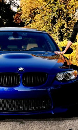 47542 download wallpaper Transport, Auto, People, Girls, Bmw screensavers and pictures for free