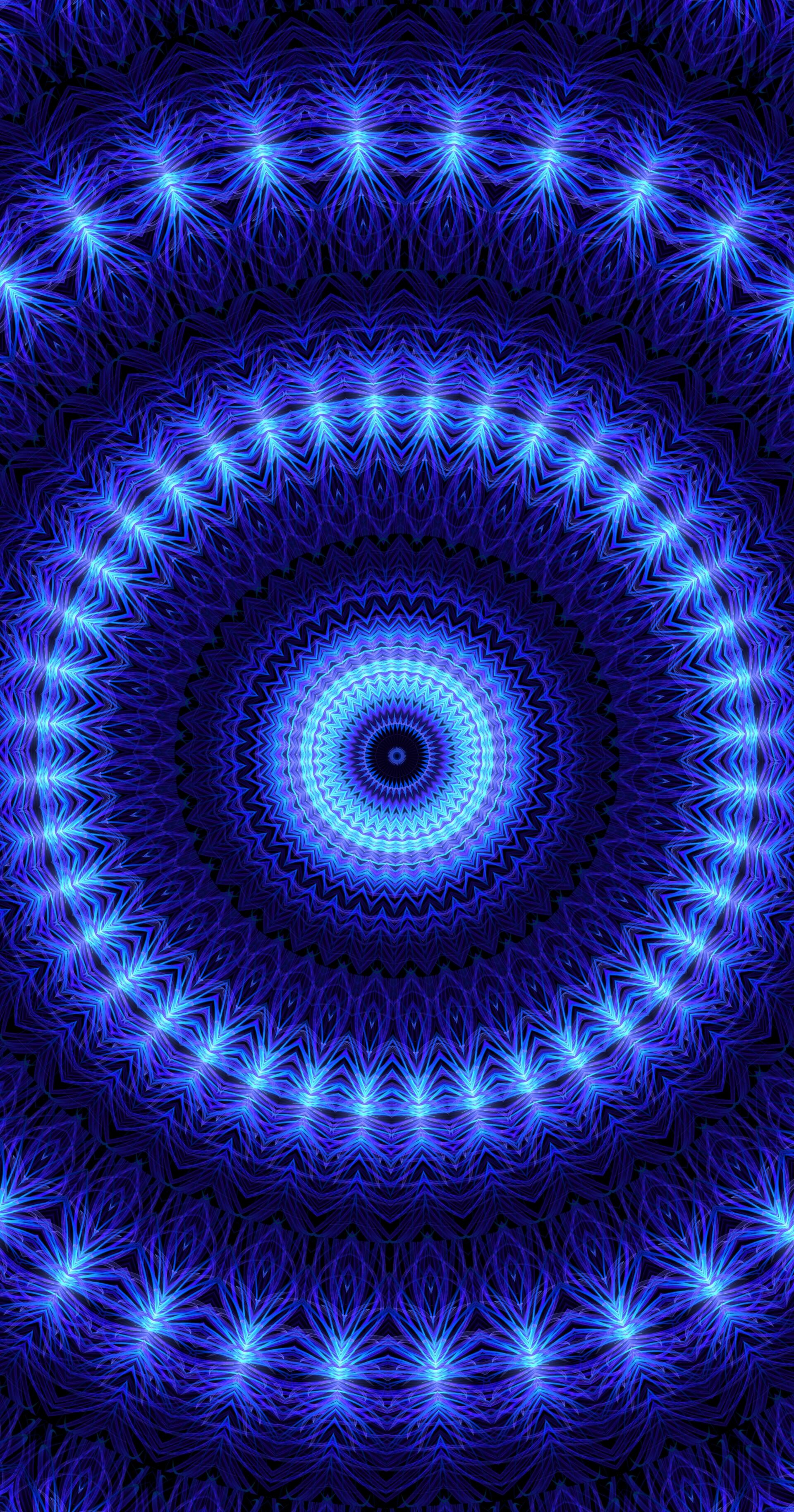 113166 免費下載壁紙 抽象, 界, 圆圈, 图案, 明亮的, 明亮, 蓝色的 屏保和圖片