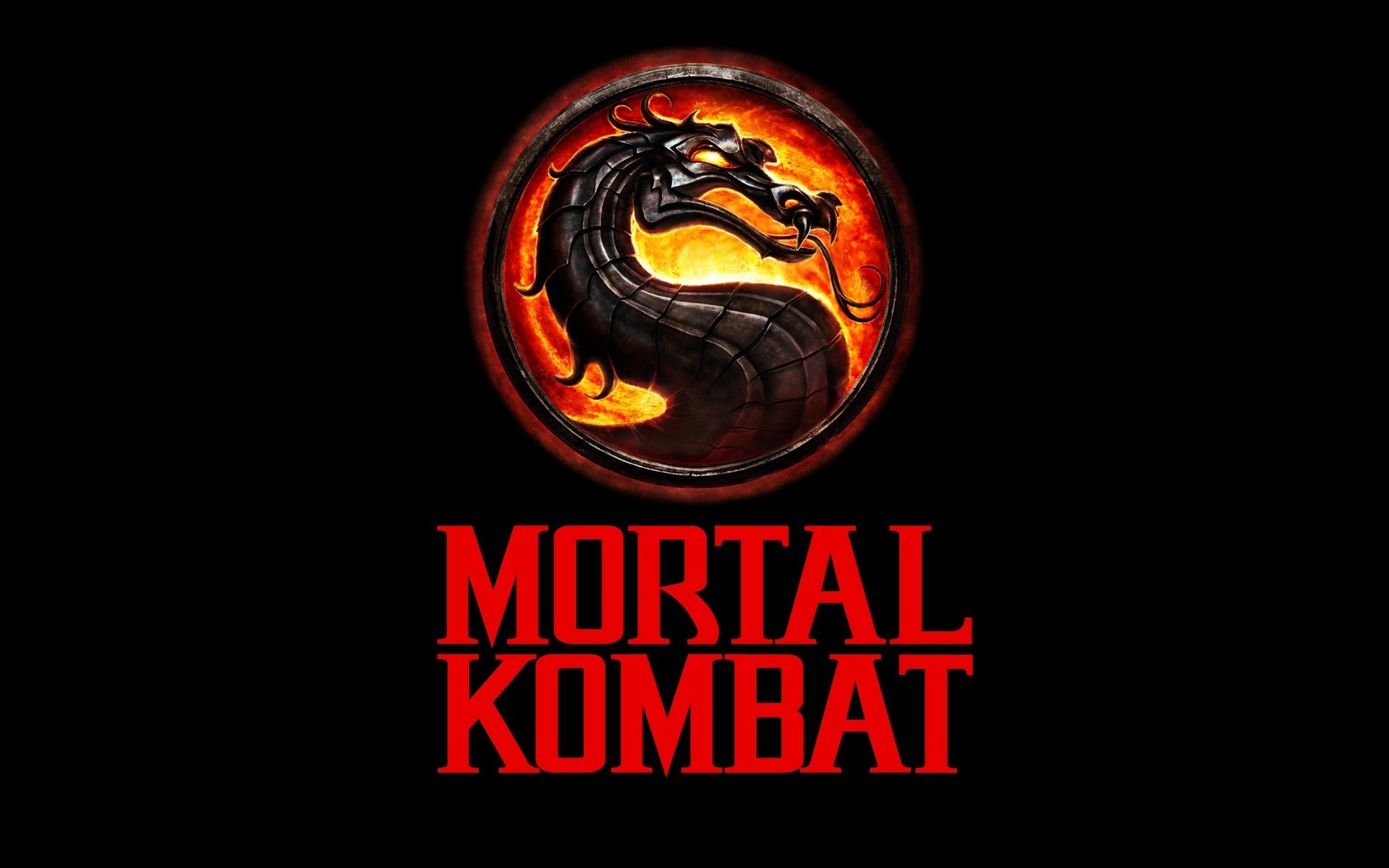 11629 Hintergrundbild herunterladen Spiele, Logos, Mortal Kombat - Bildschirmschoner und Bilder kostenlos