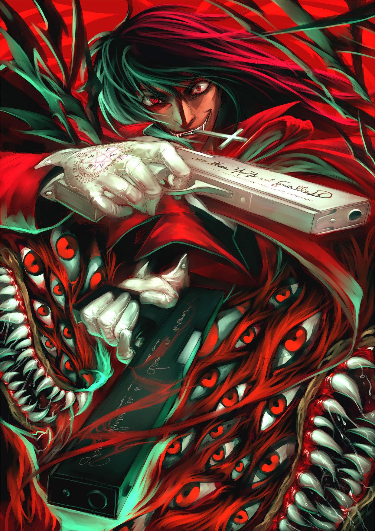 21405 скачать обои Аниме, Мужчины, Вампиры (Vampires) - заставки и картинки бесплатно