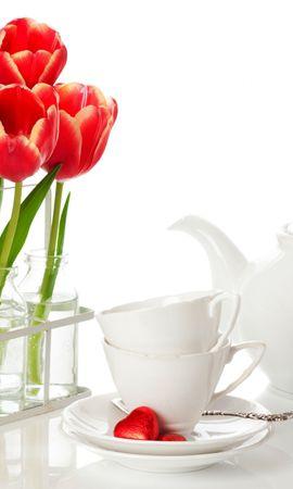 33980 télécharger le fond d'écran Plantes, Fleurs, Contexte, Tulipes, Bouquets - économiseurs d'écran et images gratuitement