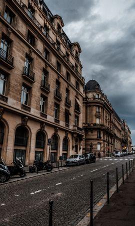 99423 baixar papel de parede Rua, Cidade, Prédio, Edifício, Carros, Paris, França, Arquitetura, Cidades, Motocicletas - protetores de tela e imagens gratuitamente