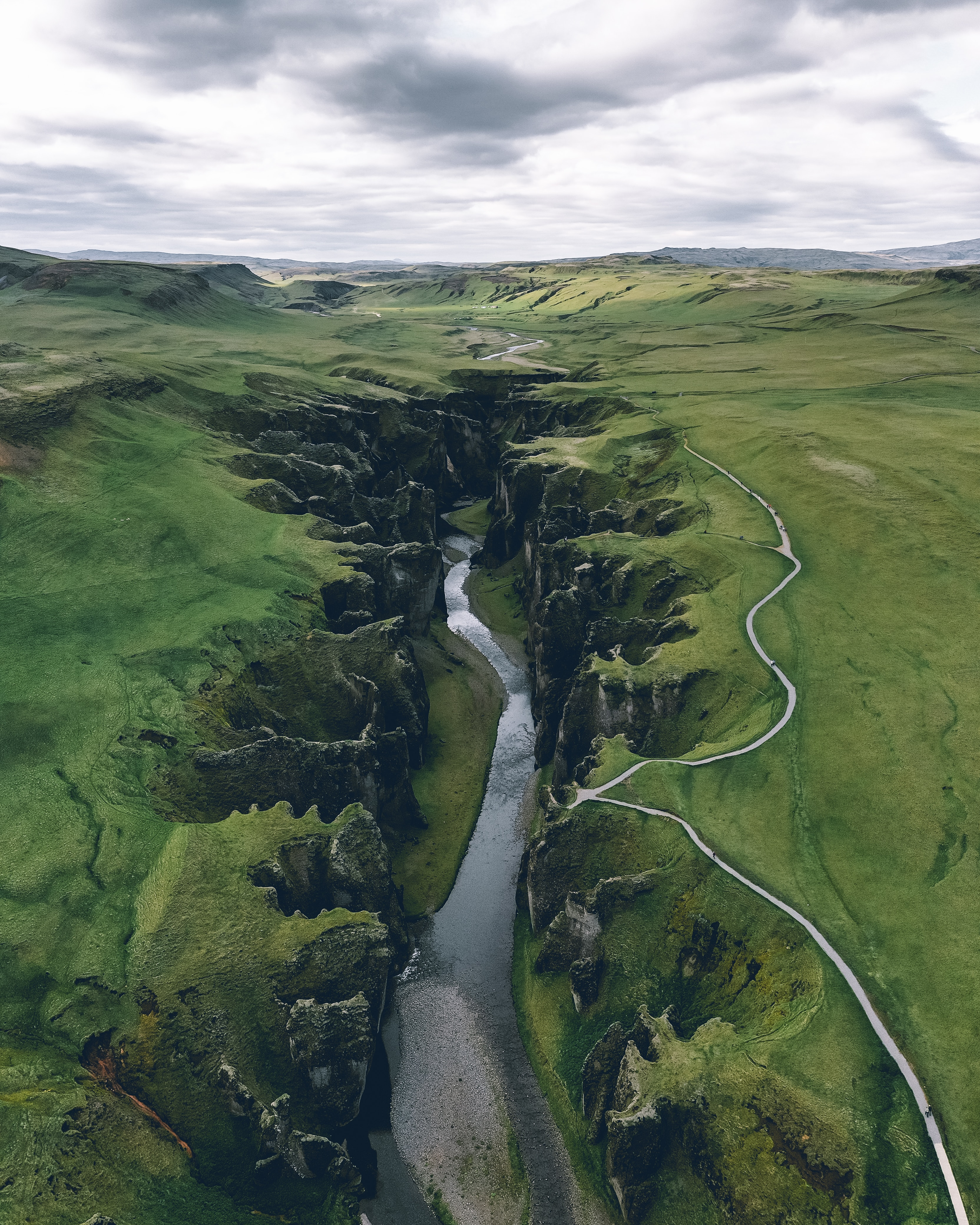 51250 download wallpaper Rivers, Canyon, View From Above, Nature, Landscape screensavers and pictures for free
