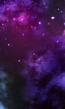426 baixar papel de parede Fantasia, Céu, Universo, Estrelas, Violeta - protetores de tela e imagens gratuitamente