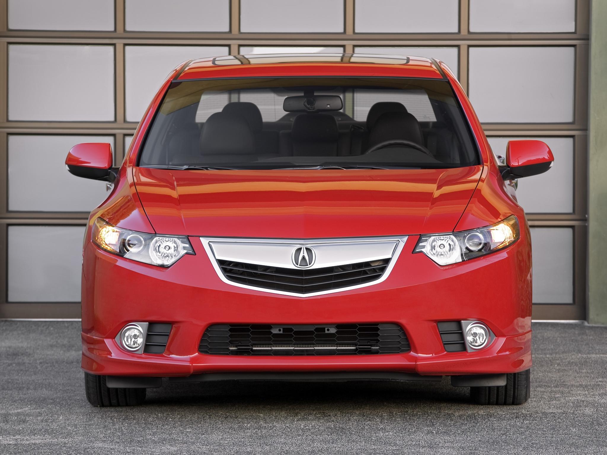 157872 скачать обои Тачки (Cars), Акура, 2011, Красный, Вид Спереди, Стиль, Акура (Acura), Tsx, Машины - заставки и картинки бесплатно