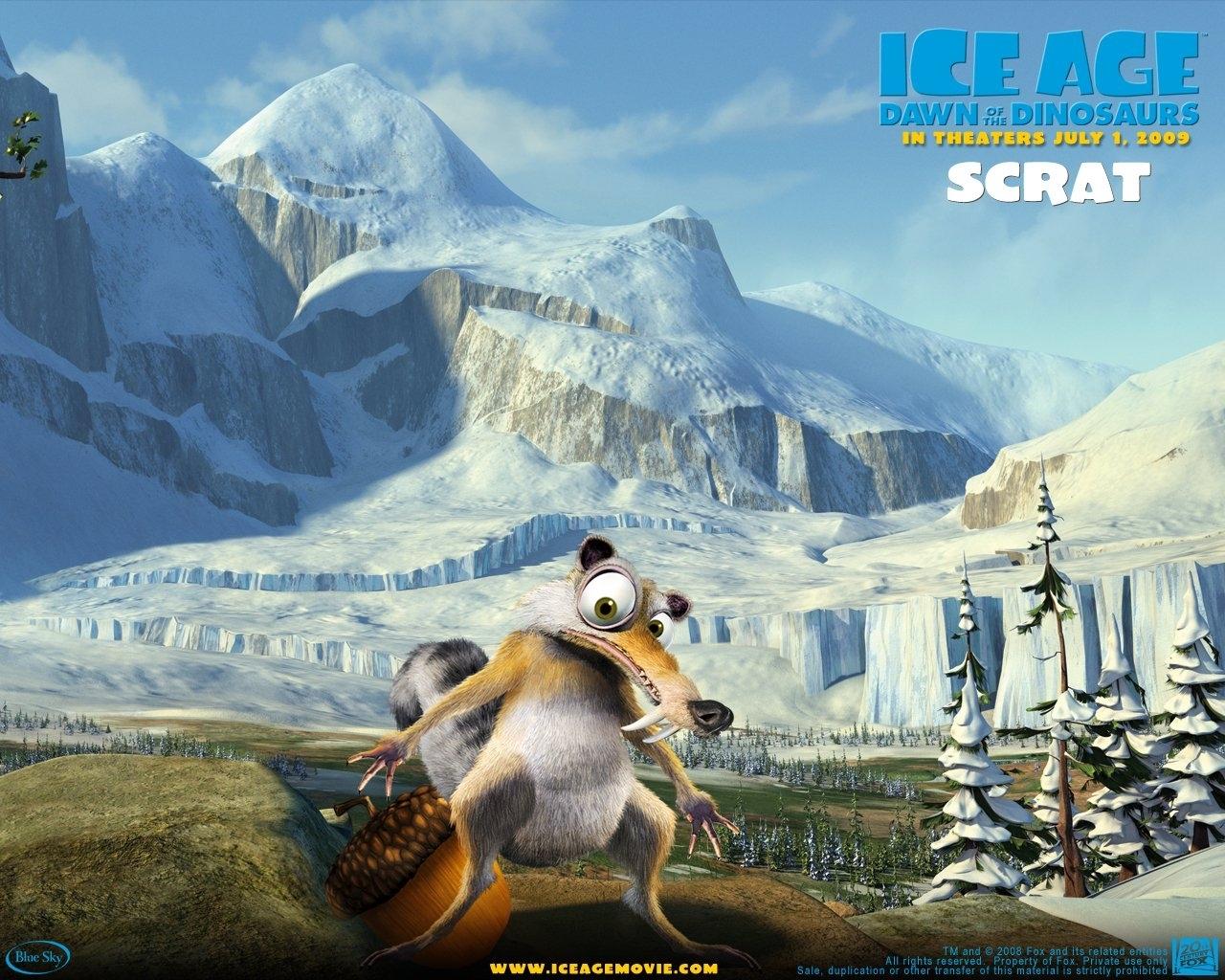 Скачать обои Ледниковый Период (Ice Age) на телефон бесплатно