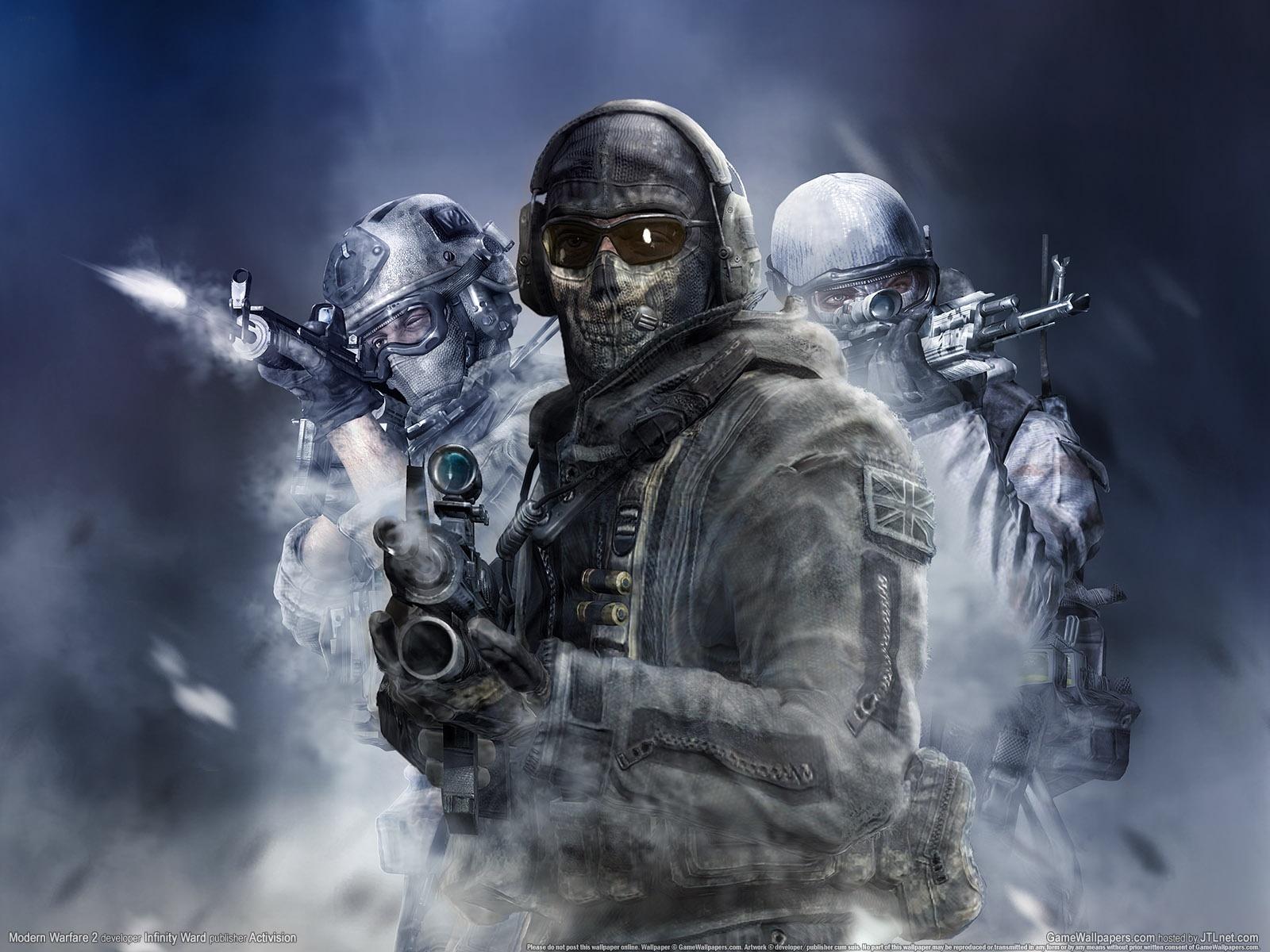 11296 скачать обои Игры, Люди, Мужчины, Modern Warfare 2 - заставки и картинки бесплатно