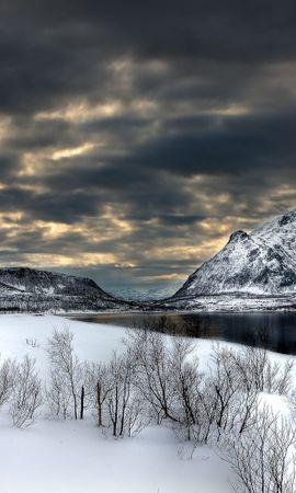 32881 скачать обои Пейзаж, Зима, Горы - заставки и картинки бесплатно