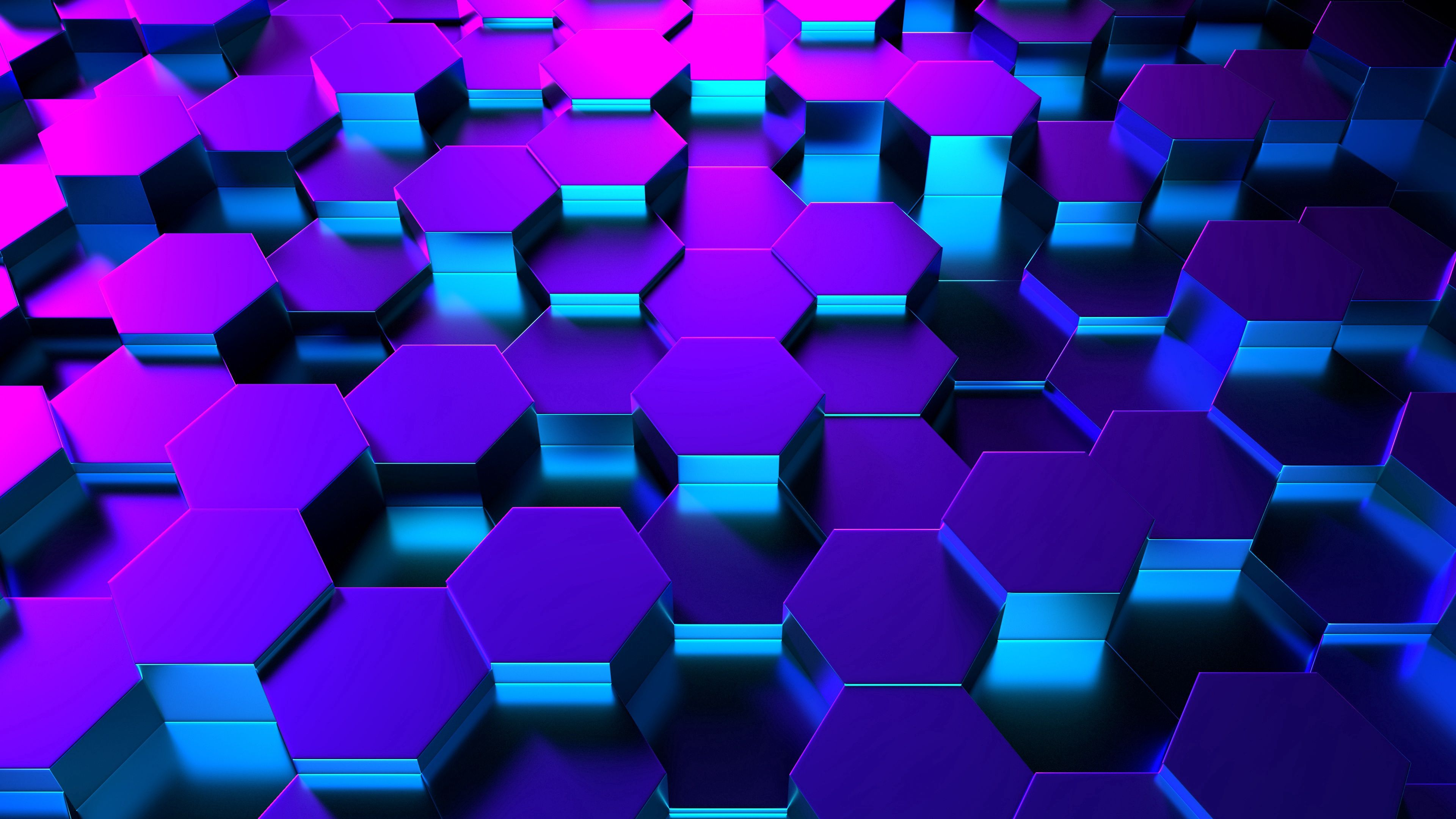 82574 Screensavers and Wallpapers Form for phone. Download 3D, Form, Backlight, Illumination, Hexagons, Rendering pictures for free