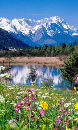 49580 завантажити шпалери Пейзаж, Природа, Гори - заставки і картинки безкоштовно