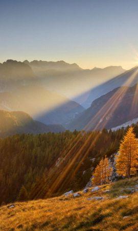 44234 télécharger le fond d'écran Paysage, Nature, Montagnes, Sun - économiseurs d'écran et images gratuitement