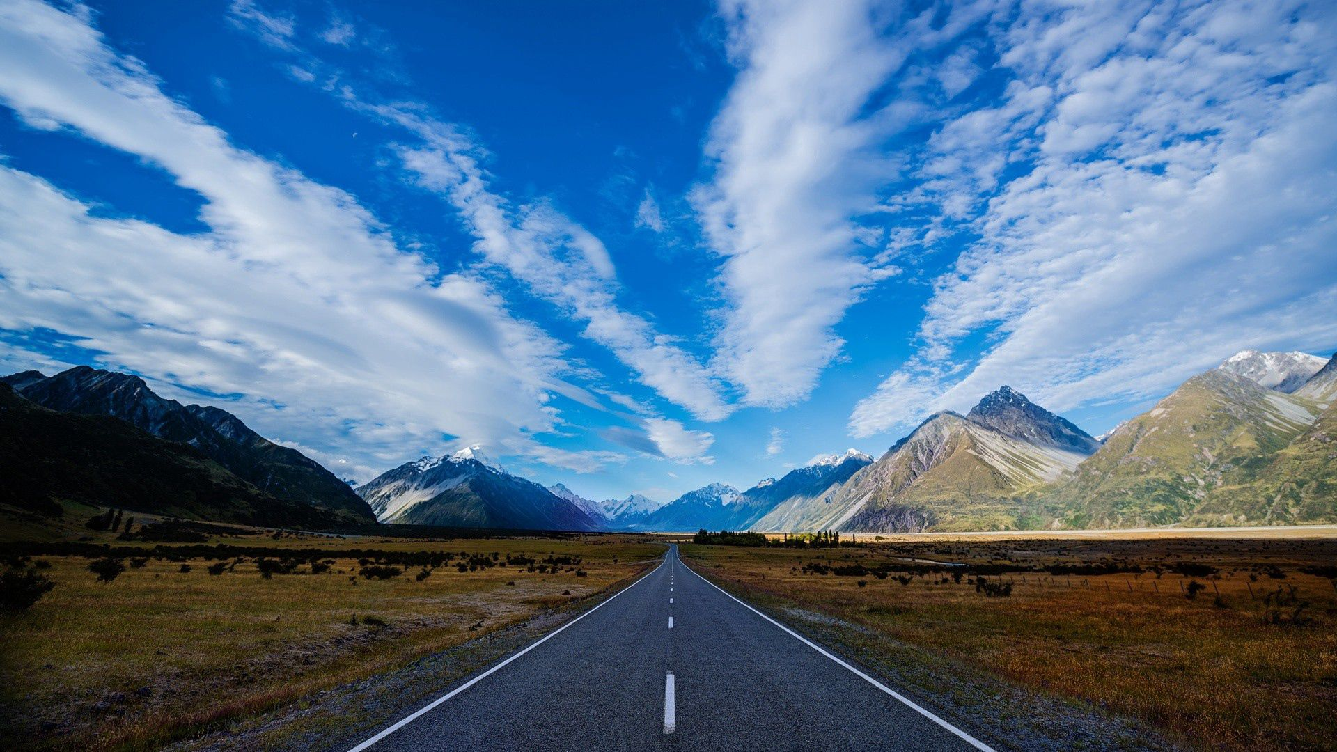 89997 Screensavers and Wallpapers Markup for phone. Download Nature, Mountains, Road, Markup pictures for free